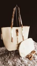 Elegante com essa bolsa