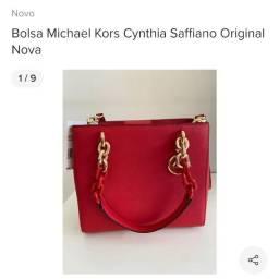 Bolsa Michael Kors Cynthia Saffiano Original Nova