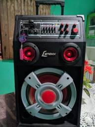 (VALOR NEGOCIÁVEL) ACEITO CARTÃO EM ATÉ 12X C/JUROS Caixa de Som Amplificadora Lenoxx