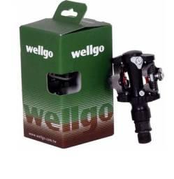 Pedal Wellgo wpd-823 Mtb Clip Bike Bicicleta<br>