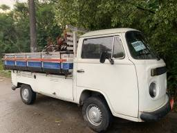 Kombi carroceria de madeira