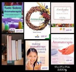 Aromaterapia - 5 Livros (Usados, em excelente estado)