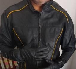 Jaqueta e luva
