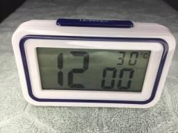 Relógio Despertador Digital Fala Horas Entrego !