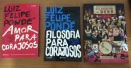 3 Livros Novos Luiz Felipe Pondé