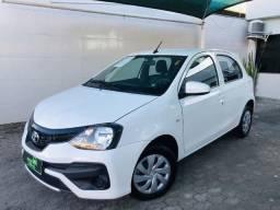 Toyota Etios x 1.3 , 2019 , Veículo Extra , Apenas 29000km