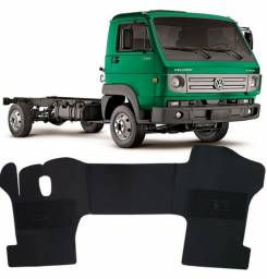 Tapete Inteiro da Cabine - Volkswagen Delivery / Worker / Man TGX / Ford