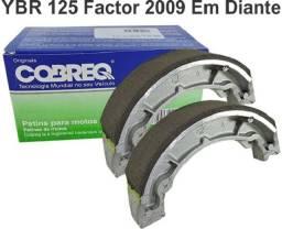 Lona de Freio Cobreq Traseira YBR 125 Factor 2009 Em Diante