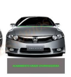 Borracha acabamento grade Churrasqueira Honda New Civic 2007 a 2011
