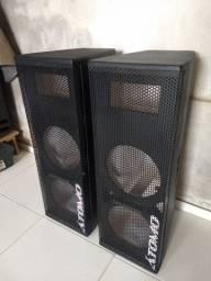 Caixas Lines Vertical 2x10 (Para alto falantes de 10 polegadas) (Apenas os Gabinetes)