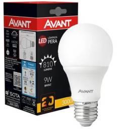 Lâmpada de LED Avant Pera Branca 7W e 9W com 6500K Bivolt