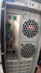 Computador Amd QuadCore usado em bom estado C/ Ssd