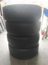 Vende_se 4 pneus semi_novos 185-55-15 bragestone