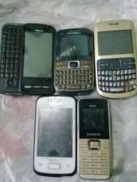 Vendo celulares antigos pecas 20$ bh meu zap 9  * bh