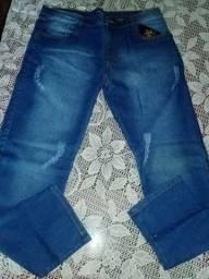 Calças jeans skyni com laycra whtsApp *