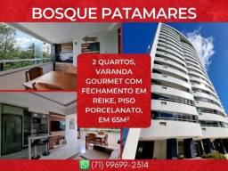 Bosque Patamares, 2 quartos em 65m² com 1 vaga de garagem em Patamares - Maravilhoso