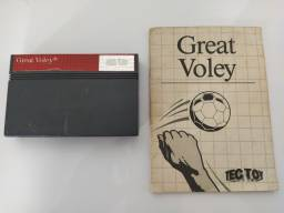 Great Voley Master System com manual