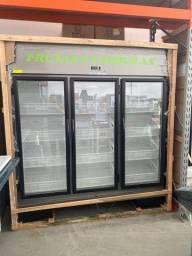 Expositor refrigerado frutas e verduras