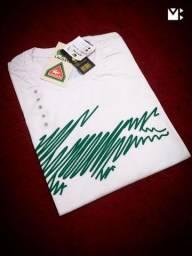 Camiseta Lacoste branca (novo)