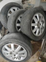 Jogo de rodas 15 de GM meriva