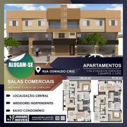 Salas e apartamentos para locação no Centro em Apucarana - PR, cod:000167