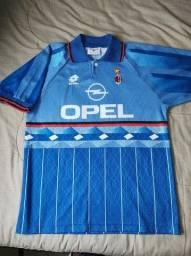 Camisa Milan 1995/96 Lotto - M