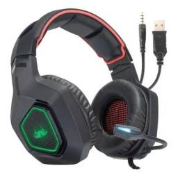 Headset Gamer KP-488 Fone gamer Fone com Microfone