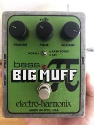 Pedal Electro-Harmonix Bass Big Muff Pi
