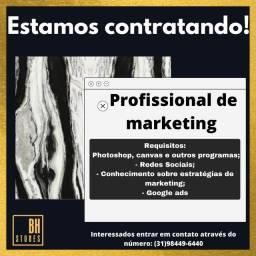 Contrata-se Profissional de Marketing