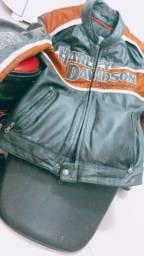 Jaqueta original couro Harley-Daivdson