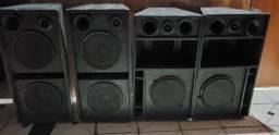 Vendo ou troco sistema de som para Igrejas, eventos, etc