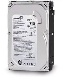 Hd 500 gb desktop e dvr seagate 3,5 novo lacrada com garantia de 1 ano