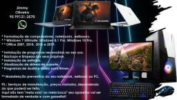 Manutenção e Formatação de Computadores (PC), Notebooks e Netbooks