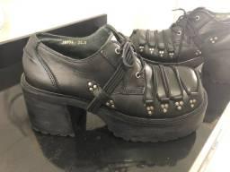 Sapato Unissex Plataforma importado