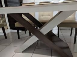 Mesa 06 cadeiras - Rufato
