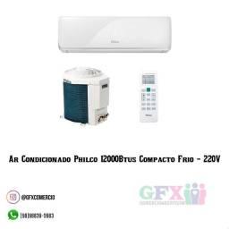 Ar condicionado Philco 12000Btus compacto frio 220v