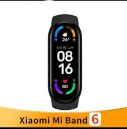 Lançamento Xiaomi Mi band 6 com tela infinita  parcelo em até 12 vezes sem juros