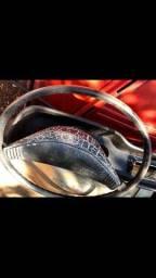 Volante e motor limpador pára-brisa brasilia
