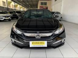 Civic EXL 2020, 14.000km, único dono, garantia de fábrica, revisado