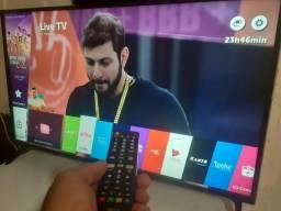 """Smart Tv Led 49"""" Full HD LG- (Impecável) - Entrego em Curitiba e região"""