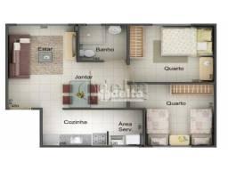 Apartamento com 2 dormitórios à venda, 47 m² por R$ 106.000,00 - Shopping Park - Uberlândi