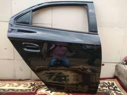 Porta e original cor preta