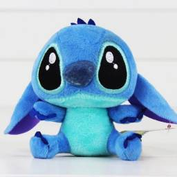 Stitch Azul 24cm pelúcia