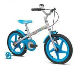 Vendo bicicleta aro 16  Nova na caixa prá crianças a partir de 4 anos. Parcelo no cartão