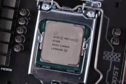 Processador Intel G4560 Kaby Lake - 6ª 7ª Ger. c/ garantia e funcionando perfeitamente