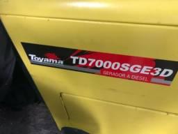 Gerador Toyama TD7000SGE3D