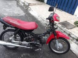 Moto Cinquentinha c/ cabeçote de pop