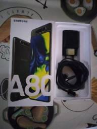 Celular A80 novo  peço 2000 mil