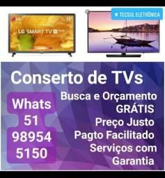 Conserto de TVs - Todas as marcas e modelos