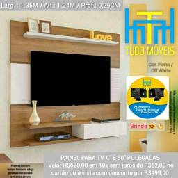 PAINEL PARA TV ATÉ 50 Pol. 1 Porta (BRINDE SUPORTE)